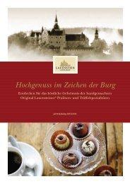 Ganzjahr 2013 - Confiserie Lauenstein