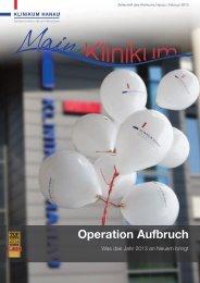 Operation Aufbruch - Klinikum Stadt Hanau