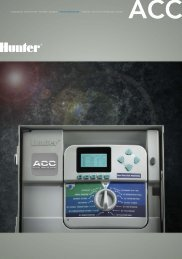ACC - Hunter Industries