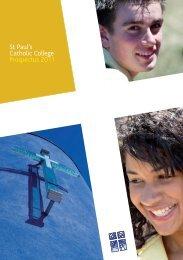 St Paul's Catholic College Prospectus 2011