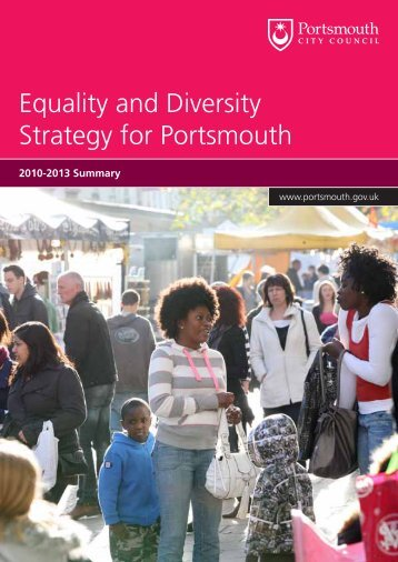 Equality and Diversity Strategy for Portsmouth - Portsmouth City ...