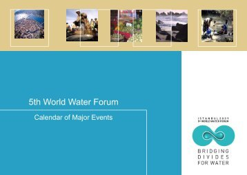 events 2008 - World Water Council