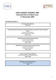 Programme - UNICA