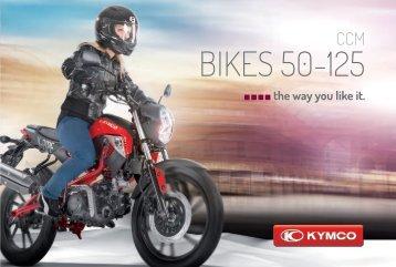 BIKES 50-125 - Kymco