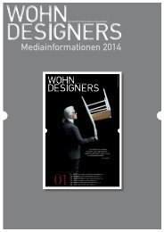Mediadaten WOHNDESIGNERS - Publishing Friends