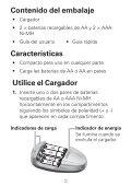 Cargador de baterías de 4 compartimentos, carga en ... - Radio Shack - Page 2