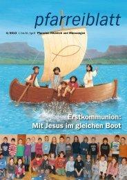 Erstkommunion: Mit Jesus im gleichen Boot - Pfarrei Hitzkirch