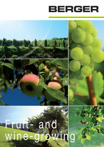 Fruit- and wine-growing - Berger