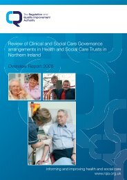 Review of Clinical and Social Care Governance arrangements in ...