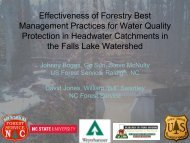 Effectiveness of Forestry Best Management Practices for Water ...