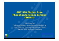 ABT 578 Elution from Phosphorylcholine: Zomaxx ... - summitMD.com