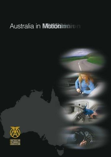 Australia in Motion - Australian Automobile Association