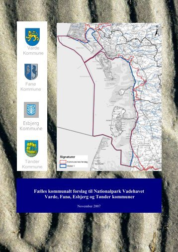 Fælles kommunalt forslag til Nationalpark Vadehavet Varde ... - SVUF