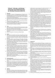 Allgemeine Geschäftsbedingungen - Achenbach Fensterbau GmbH