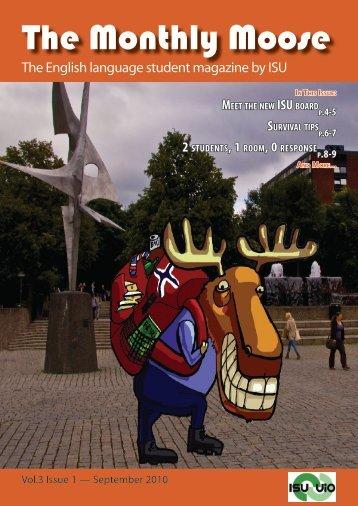 The Monthly Moose - Norwegian website