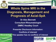 The Evidence to support Whole Spine MRI in the assessment of ...