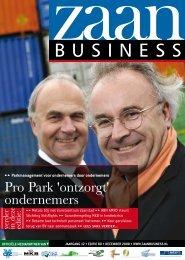 Pro Park 'ontzorgt' ondernemers - Zaanbusiness