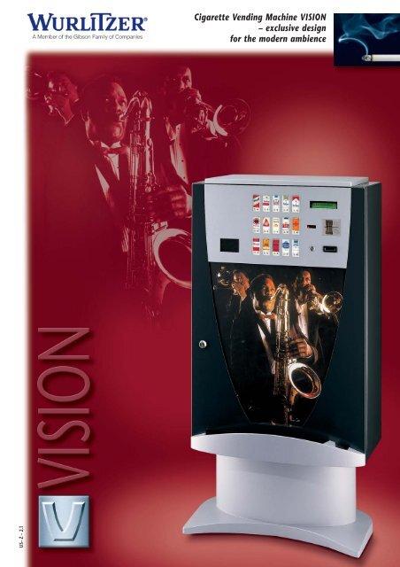 Cigarette Vending Machine VISION - Wurlitzer