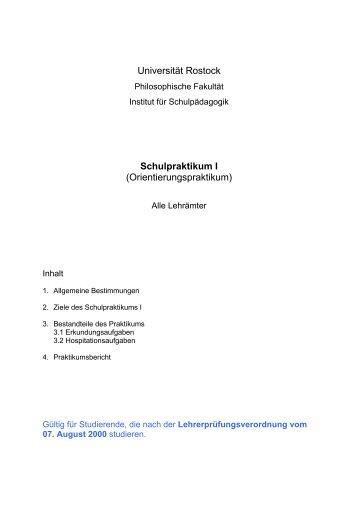 Flyer Info Praktikum Lehramt Philosophische Fakultät