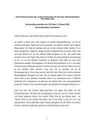 1 Aschermittwochsrede des Landesvorsitzenden der CDU Saar ...