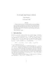 A strongly rigid binary relation - Sympatico