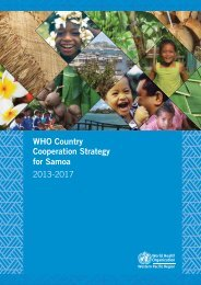 Country Cooperation Strategy pdf, 4.02Mb - WHO Western Pacific ...