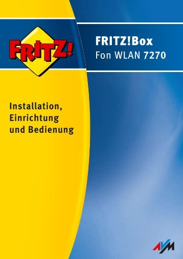 FRITZ!Box Fon WLAN 7270 - RouterShop
