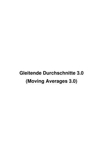 Gleitende Durchschnitte 3.0