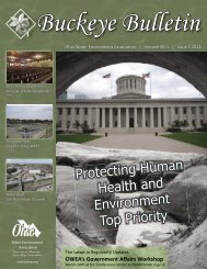 Issue 1 - February 2011 - Ohio Water Environment Association