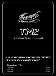 Instruction manual - Petit RC