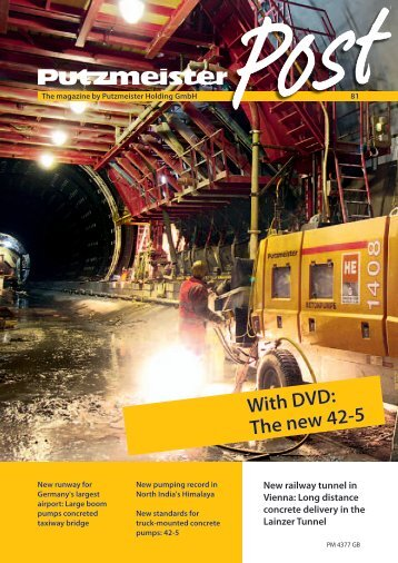 With DVD: The new 42-5 - Putzmeister
