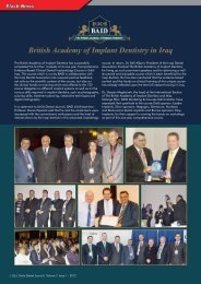 British Academy of Implant Dentistry in Iraq - Smile Dental Journal