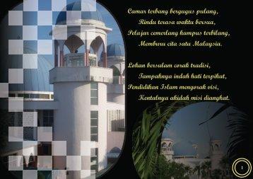 Muka-surat 1 - Laman Web Rasmi IPGM Kampus Pendidikan Islam