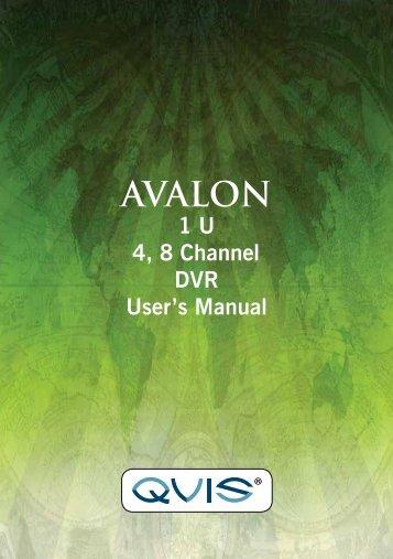 Avalon Manual - Qvis Security