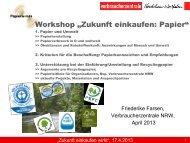 Ergebnisse Workshop
