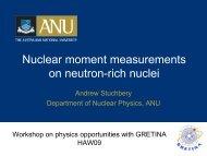 Nuclear moment measurements on neutron-rich nuclei