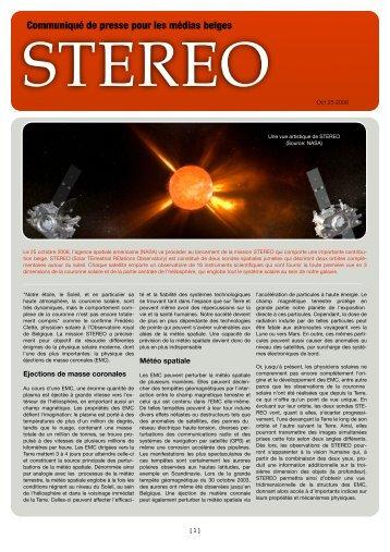 Communiqué de presse pour les médias belges - SIDC