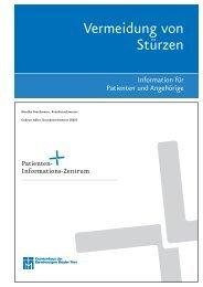 Vermeidung von Stürzen - Seniorenzentrum der Barmherzigen ...
