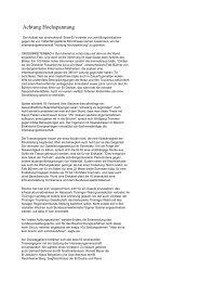 Achtung Hochspannung - Interessengemeinschaft Vorsicht ...