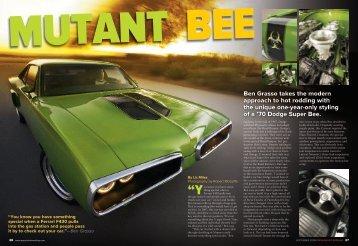 Mutant bee - MilesSpeed.com