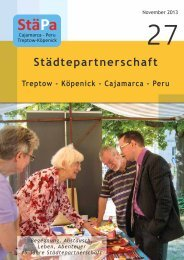 StäPA Broschüre November 2013 Nr.27 - Städtepartnerschaft ...