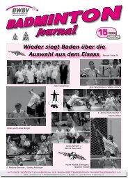 15/2010 - Baden - Württembergischer  Badminton - Verband