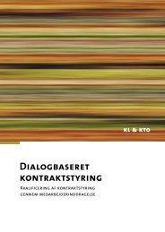 Dialogbaseret Kontraktstyring 1 - Personaleweb
