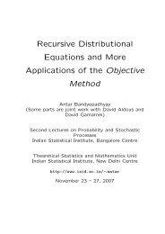 N - Indian Statistical Institute
