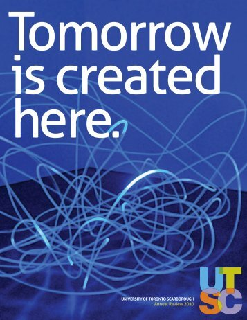 Annual Review - University of Toronto Scarborough