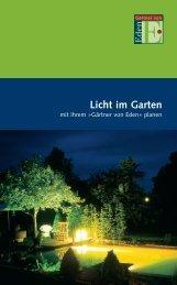 Licht im Garten - LIWATEC AG