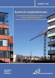 Asumisen tarjontakatsaus - Kuluttajatutkimuskeskus