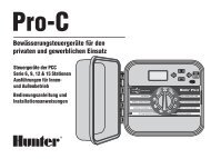 Steuergerät Pro-C - Hunter Industries
