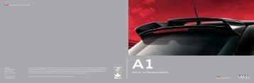 A1 Zubehörkatalog (7 MB) - Audi