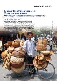 Informeller Straßenhandel in Vietnams Metropolen: Opfer rigoroser ...